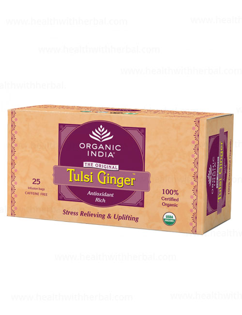 buy Organic India Tulsi Ginger Tea in UK & USA