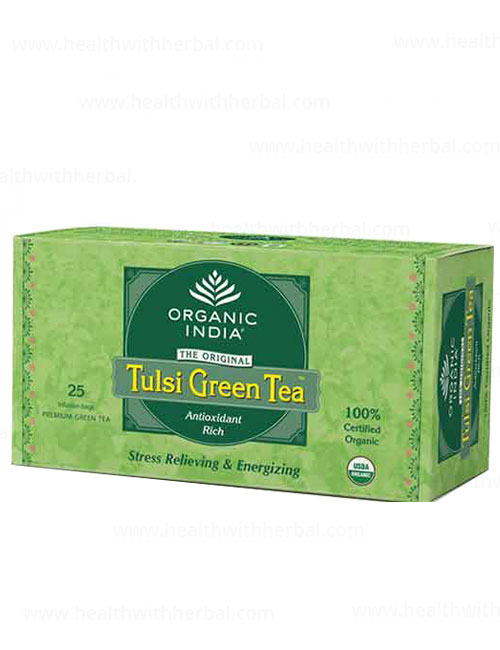 buy Organic India Tulsi Green Tea in UK & USA