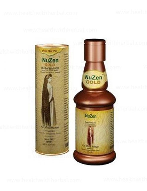 buy Nuzen Gold Herbal Hair Oil in UK & USA