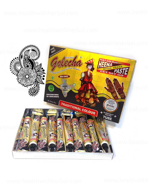 buy Golecha Black Color Heena Tube in UK & USA