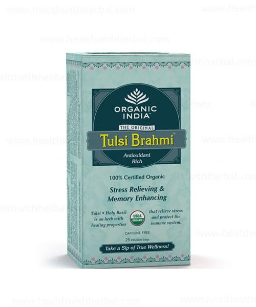 buy Organic India Tulsi Bhrami Tea in UK & USA
