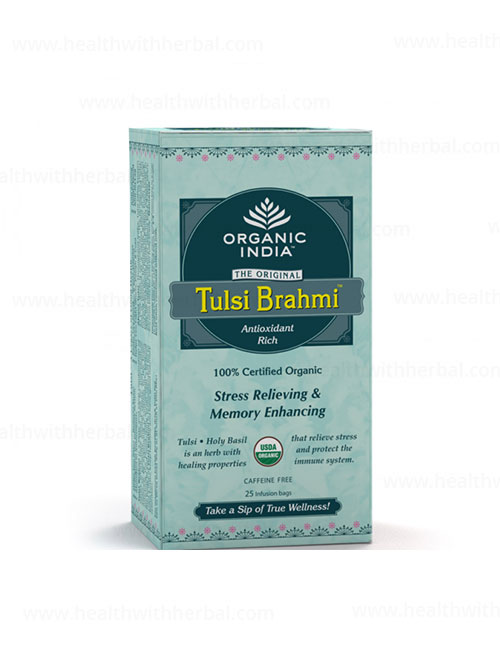 buy Organic India Tulsi Bhrami Tea in UK & USA