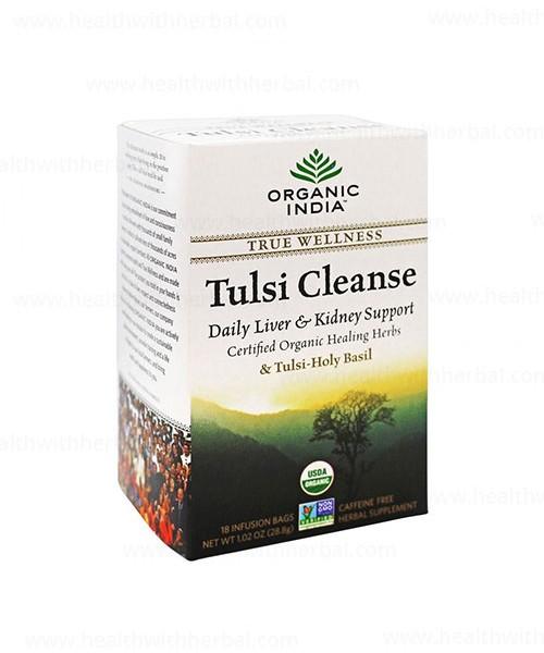 buy Organic India Tulsi Cleanse Tea in UK & USA
