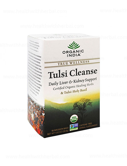 buy Organic India Tulsi Cleanse Tea in UK & USA
