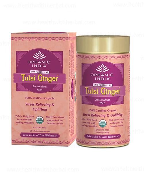 buy Organic India Tulsi Ginger in UK & USA