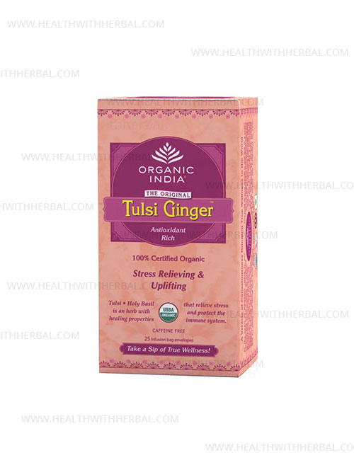 buy Organic India Tulsi Ginger in UK & USA