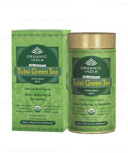buy Organic India Tulsi Green in UK & USA