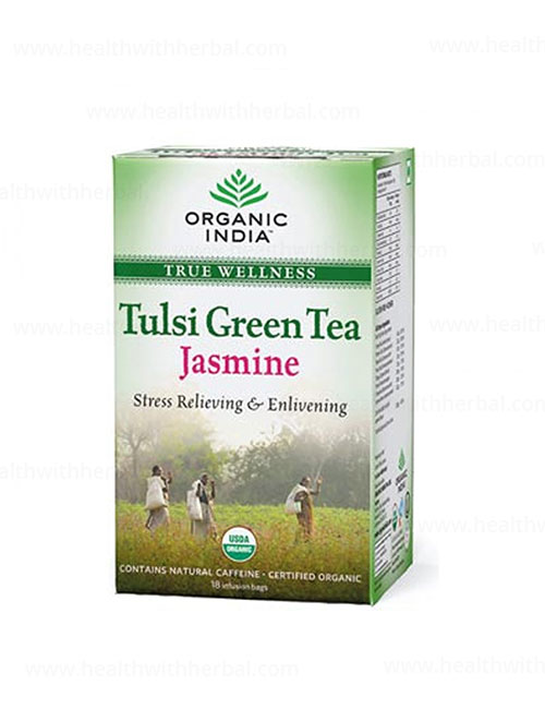 buy Organic India Tulsi Green Tea Jasmine in UK & USA