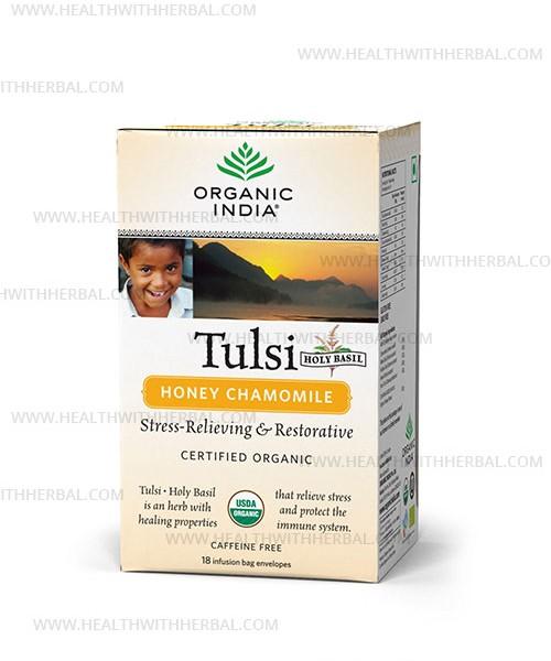 buy Organic India Tulsi Honey Chamomile in UK & USA