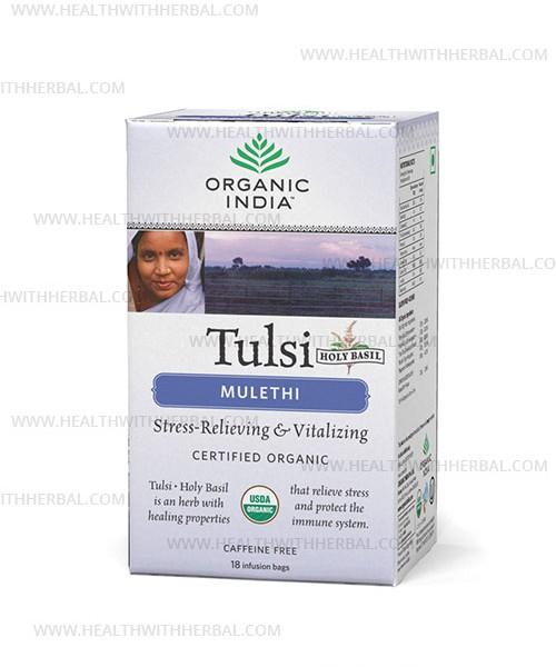 buy Organic India Tulsi Mulethi in UK & USA
