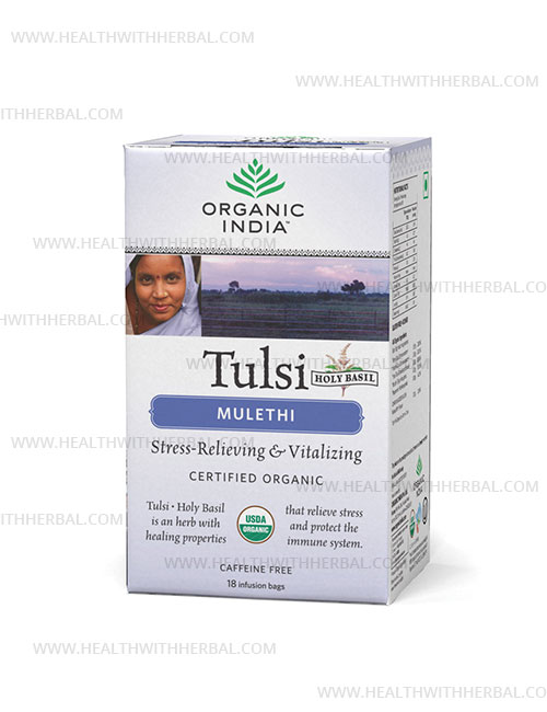 buy Organic India Tulsi Mulethi in UK & USA