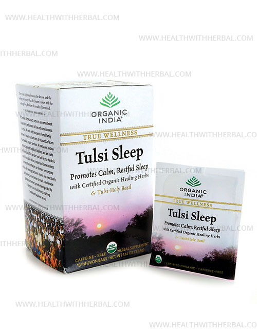 buy Organic India Tulsi Sleep Tea in UK & USA