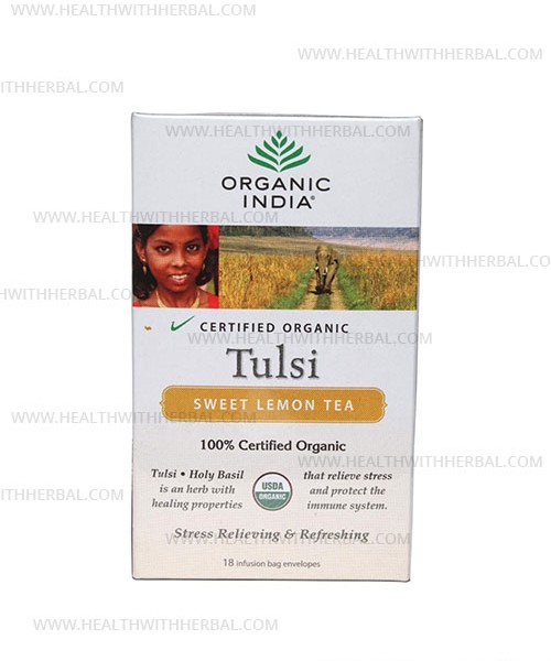 buy Organic India Tulsi Sweet Lemon in UK & USA