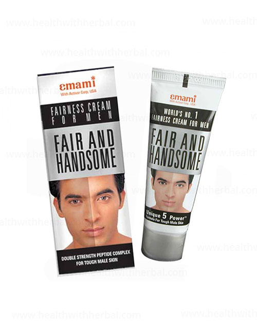 buy Emami Fairness & Handsome Cream for Men in UK & USA
