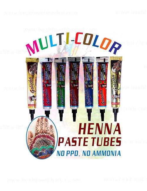 buy Golecha Multi Color Heena Tube in UK & USA