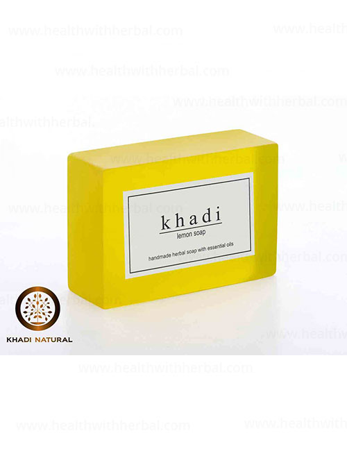 buy Khadi Lemon Soap in UK & USA