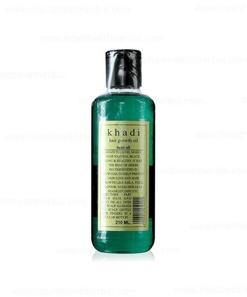 buy Khadi  Tulsi Hair Oil in UK & USA