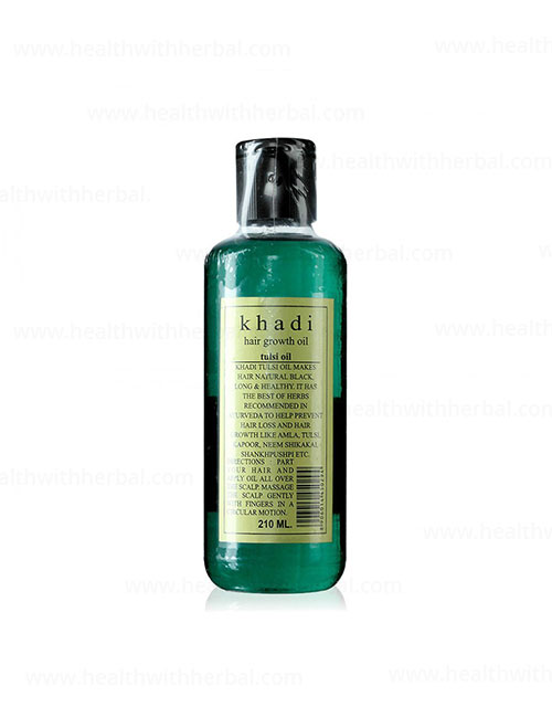 buy Khadi  Tulsi Hair Oil in UK & USA