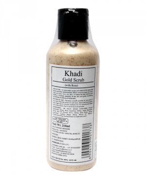 buy Khadi Gold Scrub (with Rose) 210 ml in UK & USA