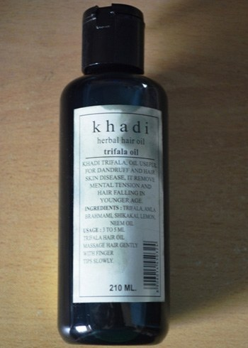 buy Khadi Herbal Hair oil trifala oil210ml in UK & USA