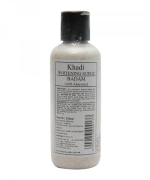 buy khadi Whitening Scrub (Badam) 210ml in UK & USA