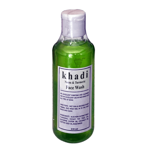 buy Khadi Neem &Turmeric Face Wash in UK & USA