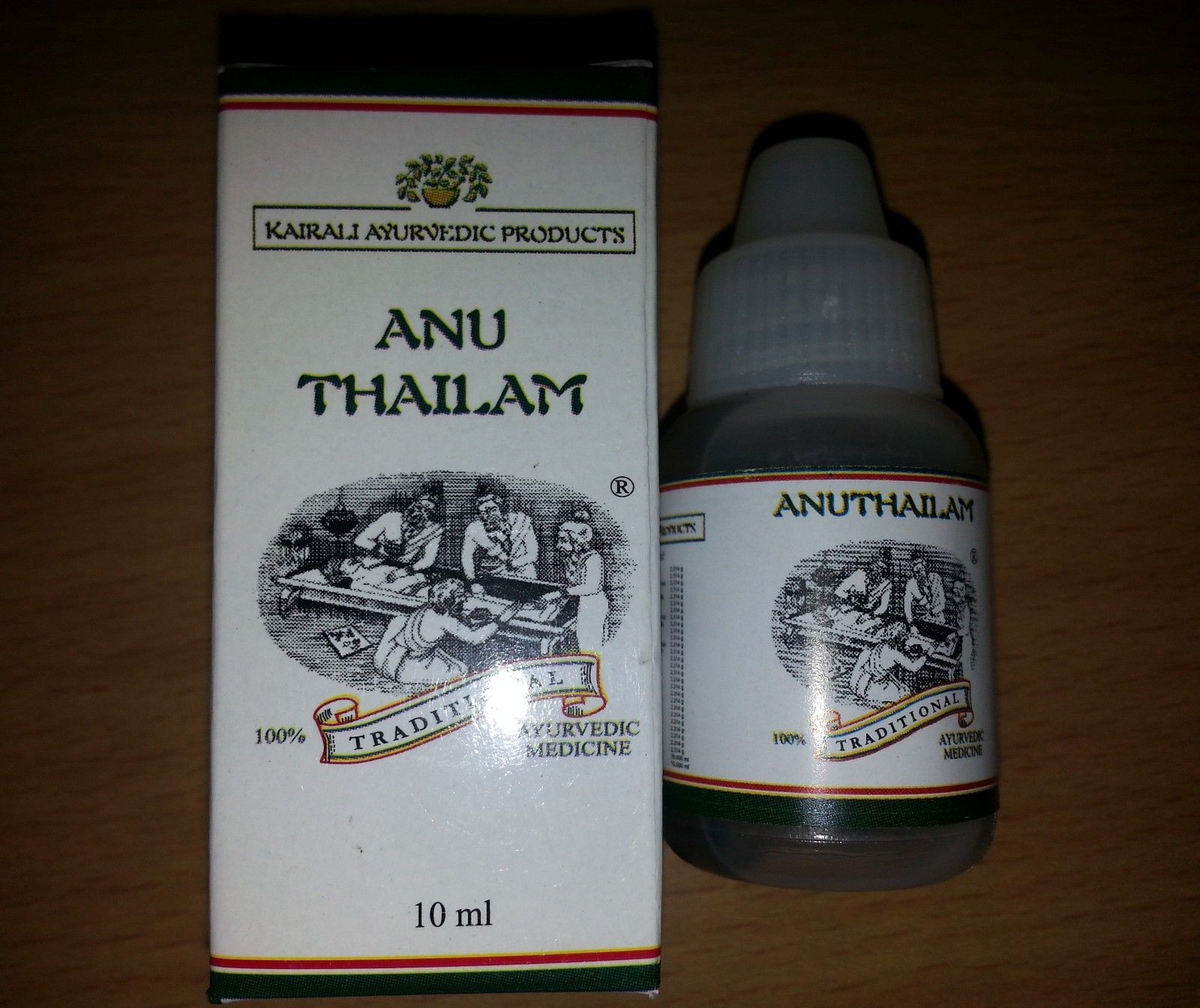buy ANU Thailam (10 ml) in UK & USA