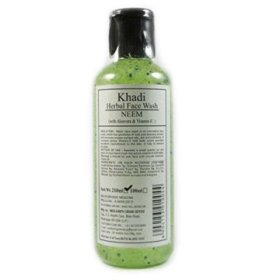 buy Khadi Herbal Face Wash Neem 210 ml in UK & USA