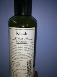 buy khadi Scrub Gel pudina 210ml in UK & USA