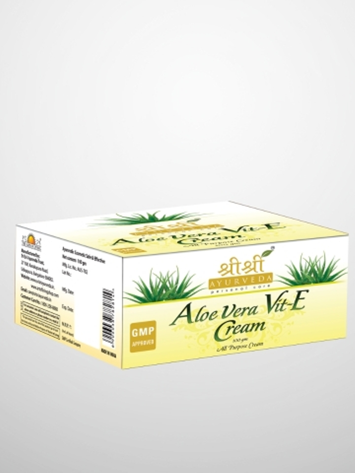 buy Sri Sri Ayurveda Aloe Vera & Vit. E Cream 100 gm in UK & USA
