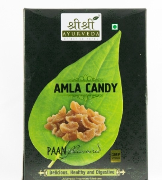 buy Sri Sri Ayurveda Amla Candy (Paan Flavor) 400 gm in UK & USA