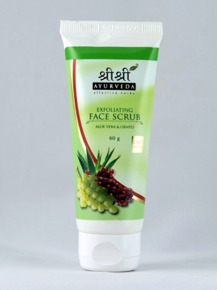 buy Sri Sri Ayurveda Exfoliating Face Scrub 60 ml in UK & USA