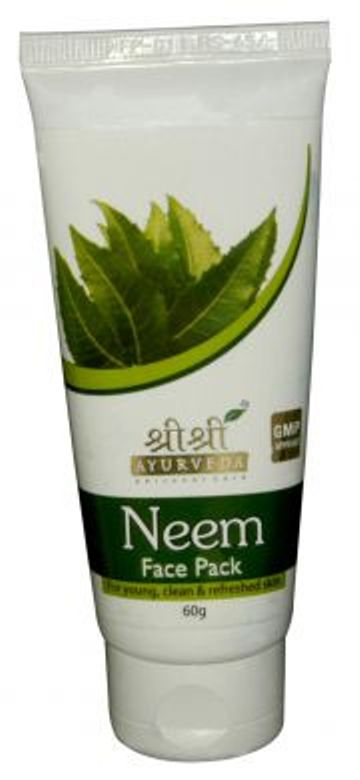 buy Sri Sri Ayurveda Neem Face Pack 60 ml in UK & USA