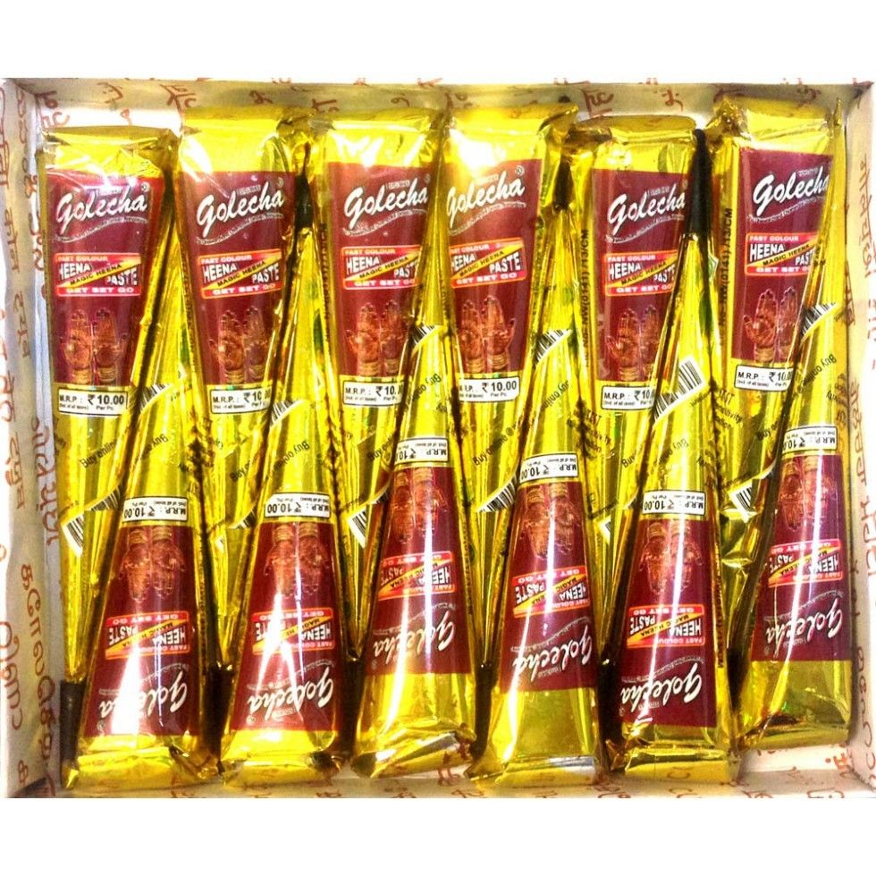 buy Golecha Red Color Henna Cones in UK & USA