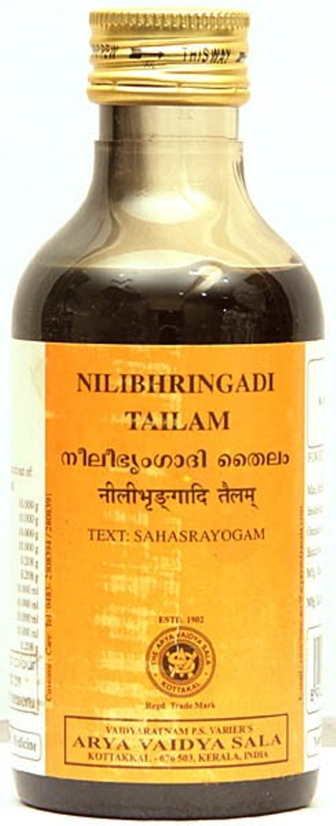 buy Arya Vaidya Sala Ayurvedic Nilibhringadi Thailam 200ml in UK & USA