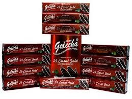 buy Golecha 24 Carat Gold Magic Henna Red Tubes (Pack of 12) in UK & USA