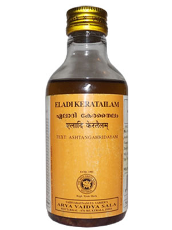 buy Arya Vaidya Sala Ayurvedic Eladi Thailam 200ml in UK & USA