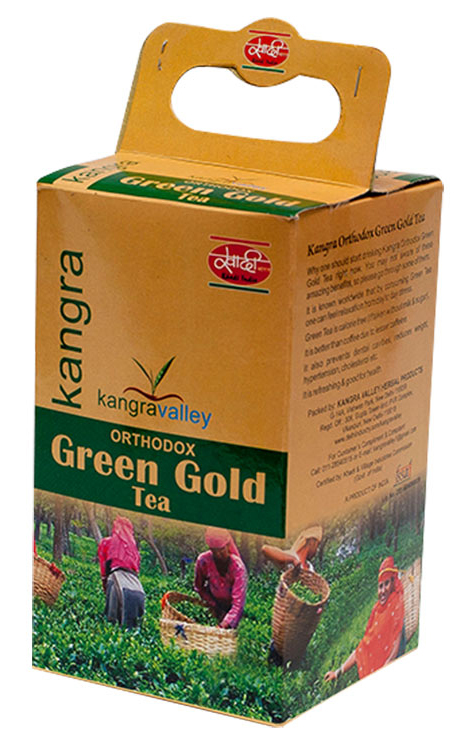 buy Kangravalley Orthodox Green Gold Tea 250 gms in UK & USA