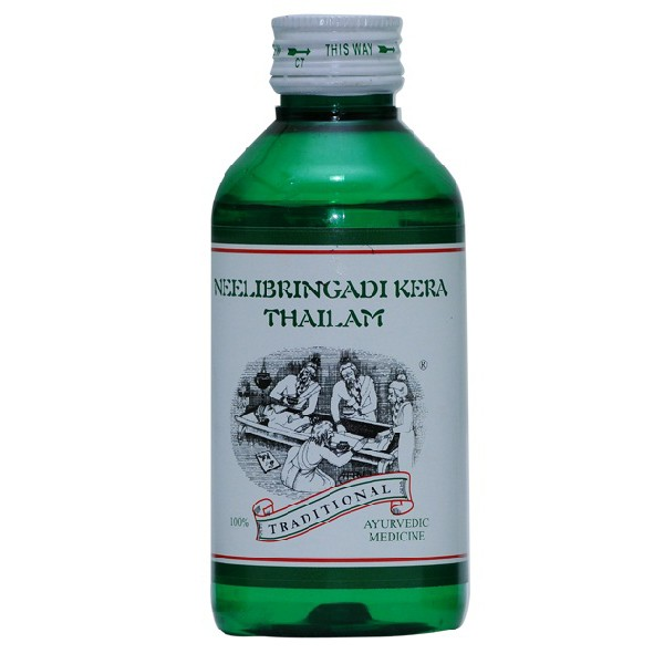 buy Neelibringadi Kera Thailam 200 ml in UK & USA