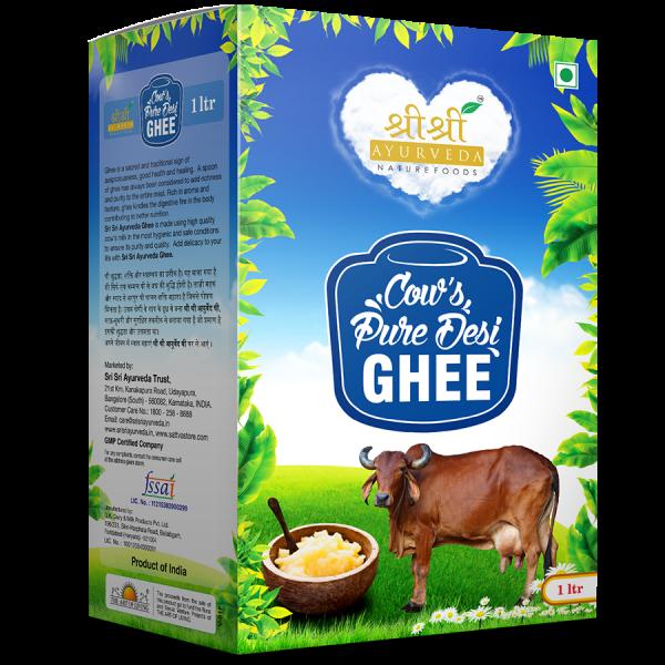 buy Cow's Pure Desi Ghee 1 kg in UK & USA