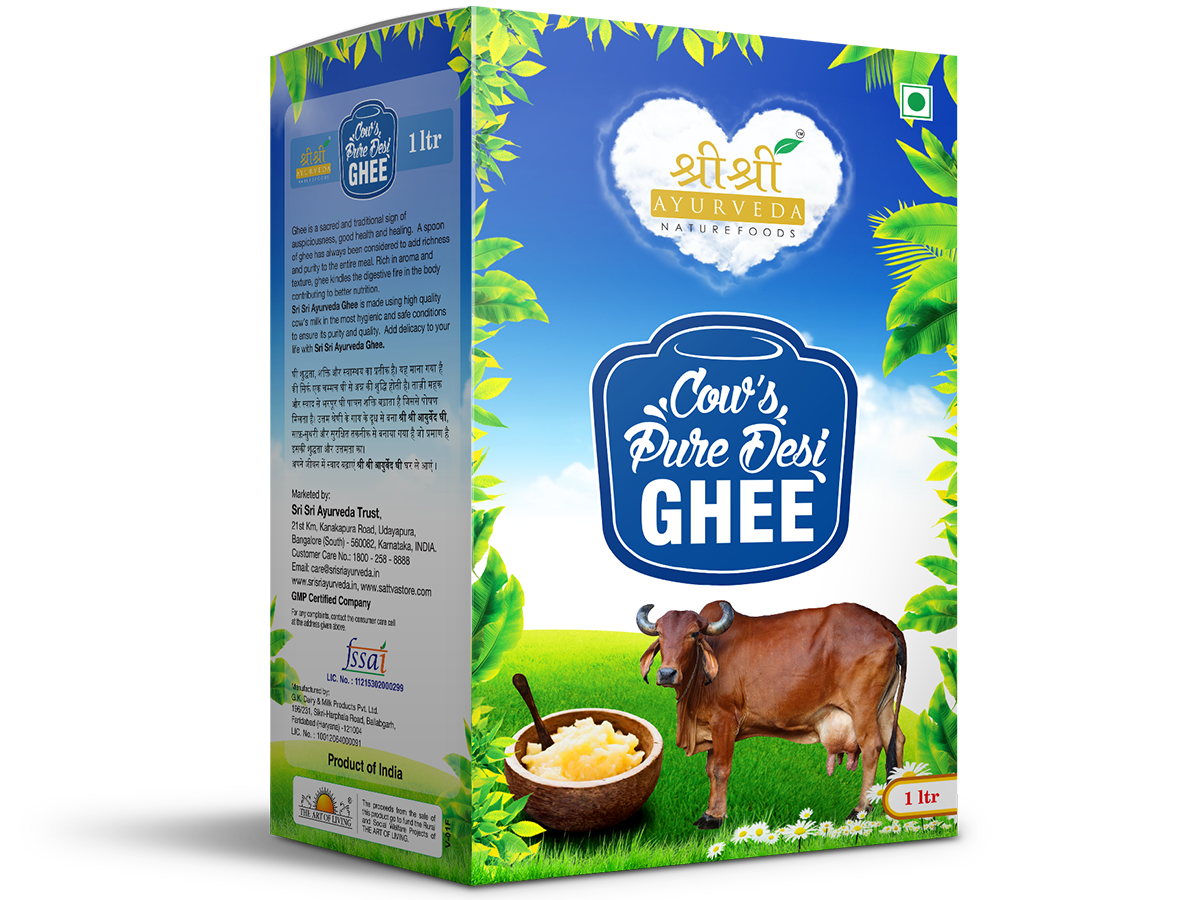 buy Cow's Pure Desi Ghee 1 kg in UK & USA