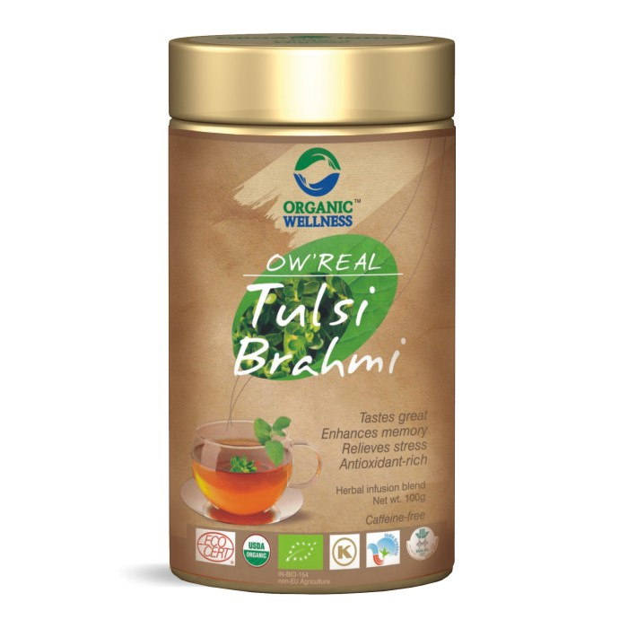 buy Organic Wellness Tulsi Brahmi Tea in UK & USA