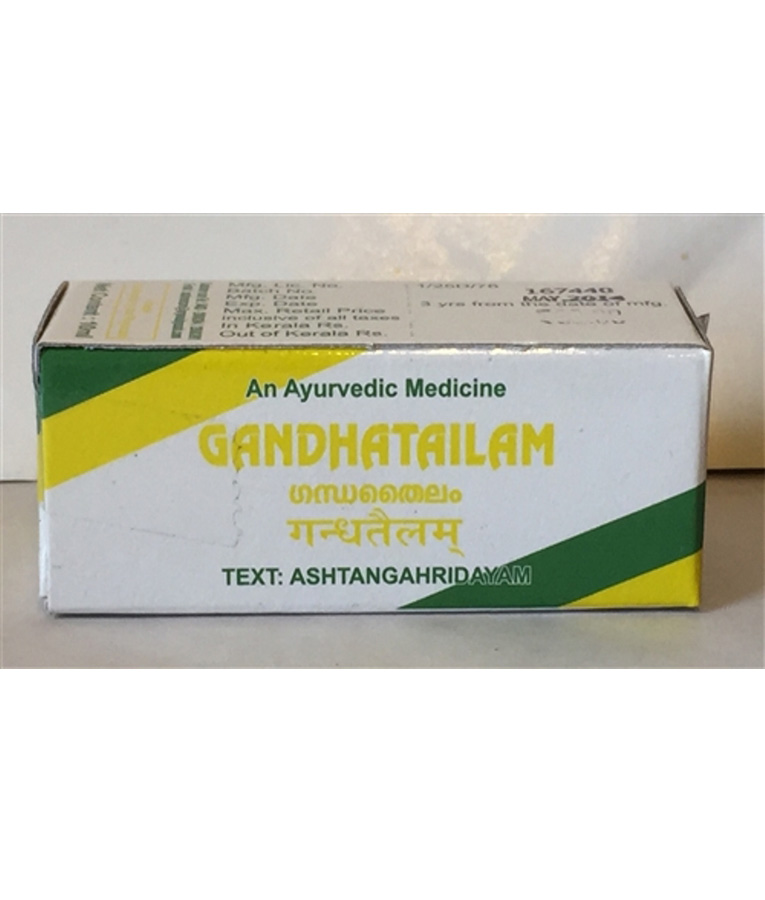 buy Ayurvedic Gandha Tailam in UK & USA