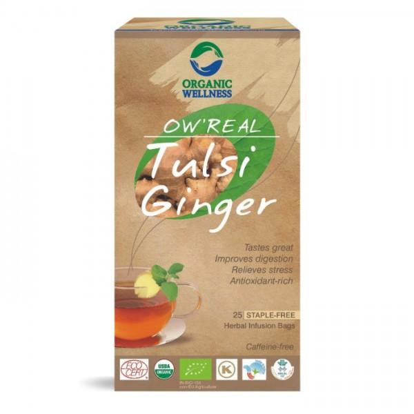 buy Organic Wellness Tulsi Ginger Green Tea in UK & USA