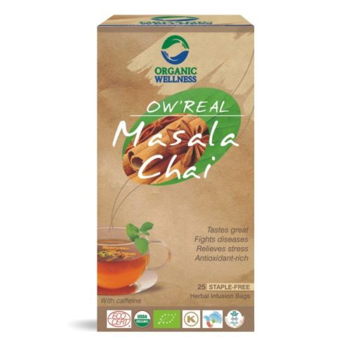 buy Organic Wellness Masala Chai Green Tea Bags in UK & USA