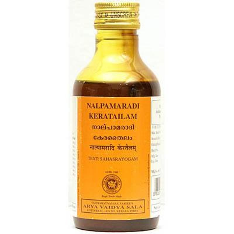 buy Ayurvedic Nalpamaradi Kera Tailam in UK & USA
