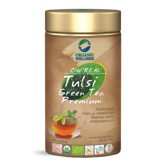 buy Organic Wellness Tulsi Green Tea Premium in UK & USA