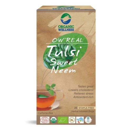 buy Organic Wellness Tulsi & Sweet Neem Green Tea Bags in UK & USA
