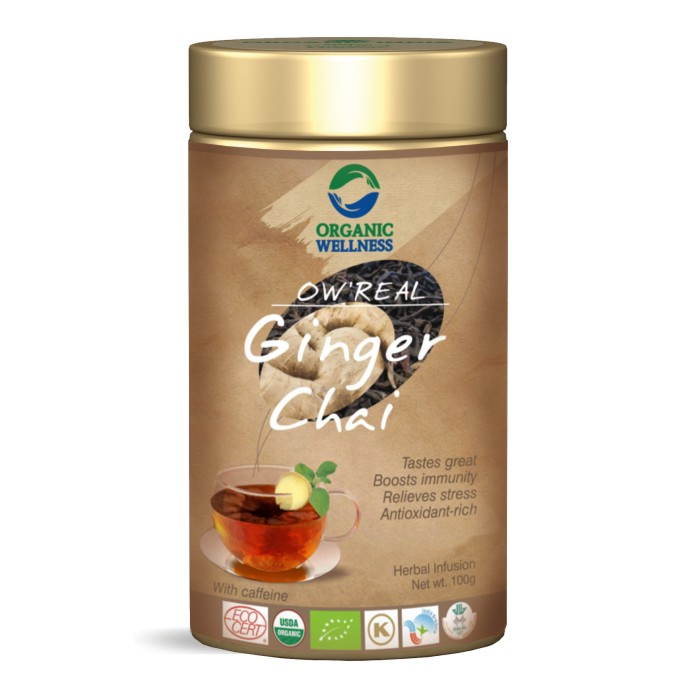 buy Organic Wellness Ginger Black Tea in UK & USA