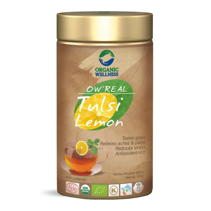 buy Organic Wellness Tulsi Lemon Green Tea in UK & USA